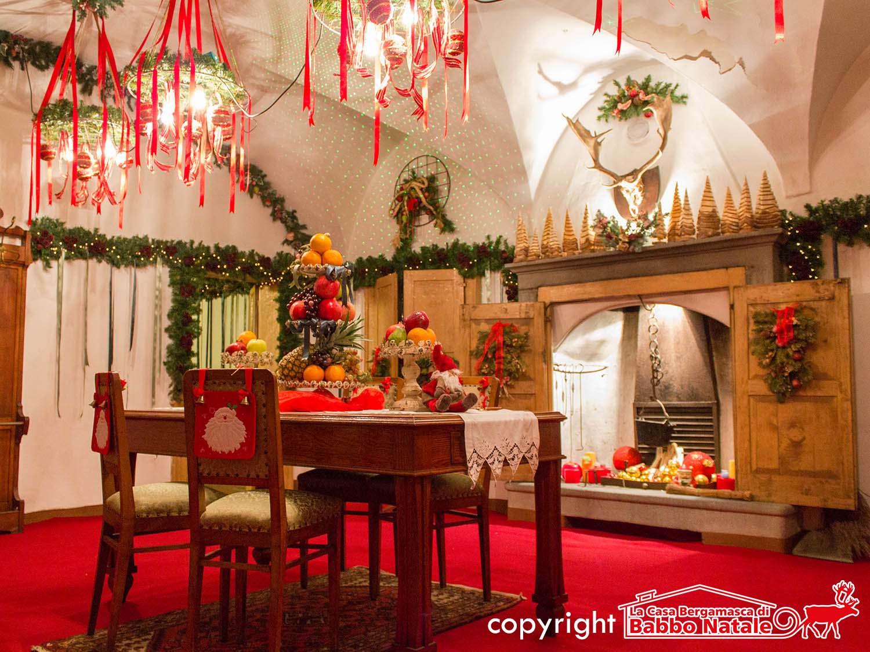 Credits la Casa Bergamasca di Babbo Natale a Gandino